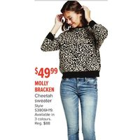 Molly Bracken Cheetah Sweater