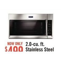 Maytag 2.0-Cu. Ft. Stainless Steel Over-the-Range Microwave