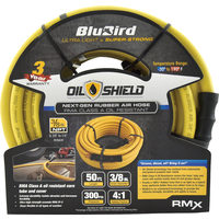 Blu Bird50 Ft X 3/8 In. Oil Shield Ultra-Light Rubber Air Hose