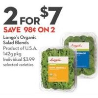 Longo's Organic Salad Blends