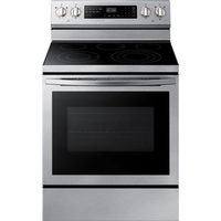 "Samsung 30"" True Convection Freestanding Smooth Top Electric Range"