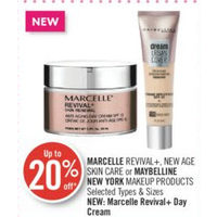 Marcelle Revival+, New Age Skin Care Or Maybelline New York Makeup Products