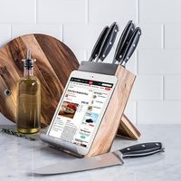 6 Pc. James F Dock-It Knife Block Set