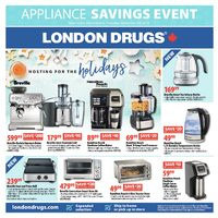 London Drugs - Appliance Savings Event Flyer