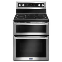 Maytag True Convection Electric Double Oven Free Standing Range, 6.7 Cu. Ft.