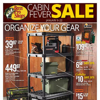 Bass Pro Shops - Cabin Fever Sale Flyer