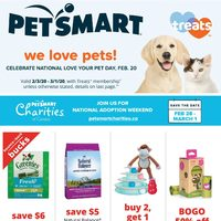 PetSmart - We Love Pets! Flyer