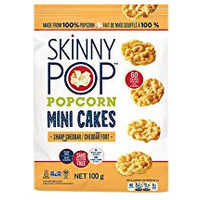 Skinny Pop Popcorn Mini Cakes