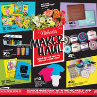 Michaels - Weekly - Maker Haul Flyer
