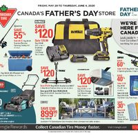 Canadian Tire - Weekly - Canada's Father's Day Store Flyer
