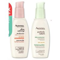 Aveeno Ultra-Calming, Positively Radiant Or Clear Complexion Face Moisturizers