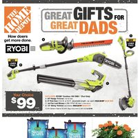 Home Depot - Weekly - Great Gifts For Great Dads Flyer