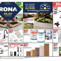 Rona - Weekly - Enjoy Summer Flyer