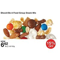 Should Be A Food Group Snack Mix