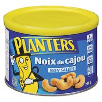 Planters Roasted Cashews, Peanuts Or Bar Mix