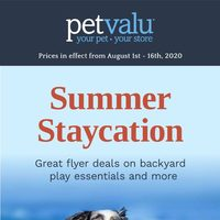 Pet Valu Flyer London On Redflagdeals Com