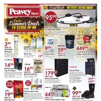 PeaveyMart - Late Summer Deals Flyer