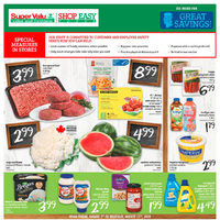 Shop Easy Foods - Weekly Specials Flyer