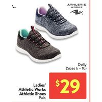 Ladies Athletic Works Athletic Shoes - Dolly