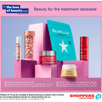 Shoppers Drug Mart - Beauty Boutique Locations Only - For The Love of Beauty Event Flyer