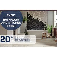 Vanities, Lavatory Sinks, Pedestals, Bathroom Faucets, Toilets, Bathtubs And Showers