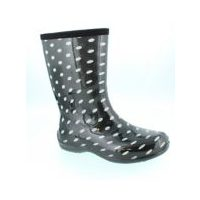 Outbound Men's Ezze Moc Shoe & Duck Shoes or Women's Print Dotted Boot, Flower Rubber Boot & Youth Recess Hiker