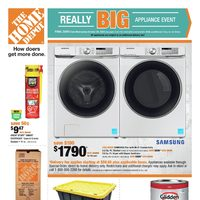 - Weekly - Really Big Appliance Event Flyer