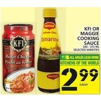 Kfi or Maggie Cooking Sauce