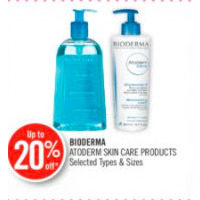 Bioderma Atoderm Skin Care Products