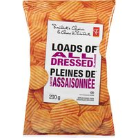 PC Kettle Cooked, Load Of, Thick Cut or World of Flavours Potato Chips
