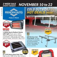 - 2 Week Sale - Cold Outside, Hot Deals Inside Flyer