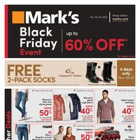 Mark's - Black Friday Event Flyer