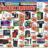 Factory Direct - Black Friday! Flyer