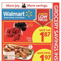 Walmart - Supercentre - More Joy. More Savings. Flyer