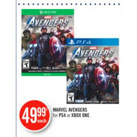 Marvel Avengers for PS4 or XBOX ONE