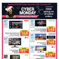 Walmart - Cyber Monday 3-Day Event Flyer