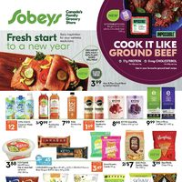 Sobeys - Fresh Start To A New Year Flyer