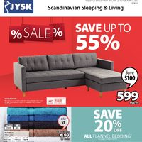 JYSK - 2 Weeks of Savings Flyer