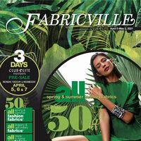 Fabricville - Club Elite Members Only Flyer