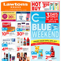 Lawtons Drugs - Weekly Savings Flyer