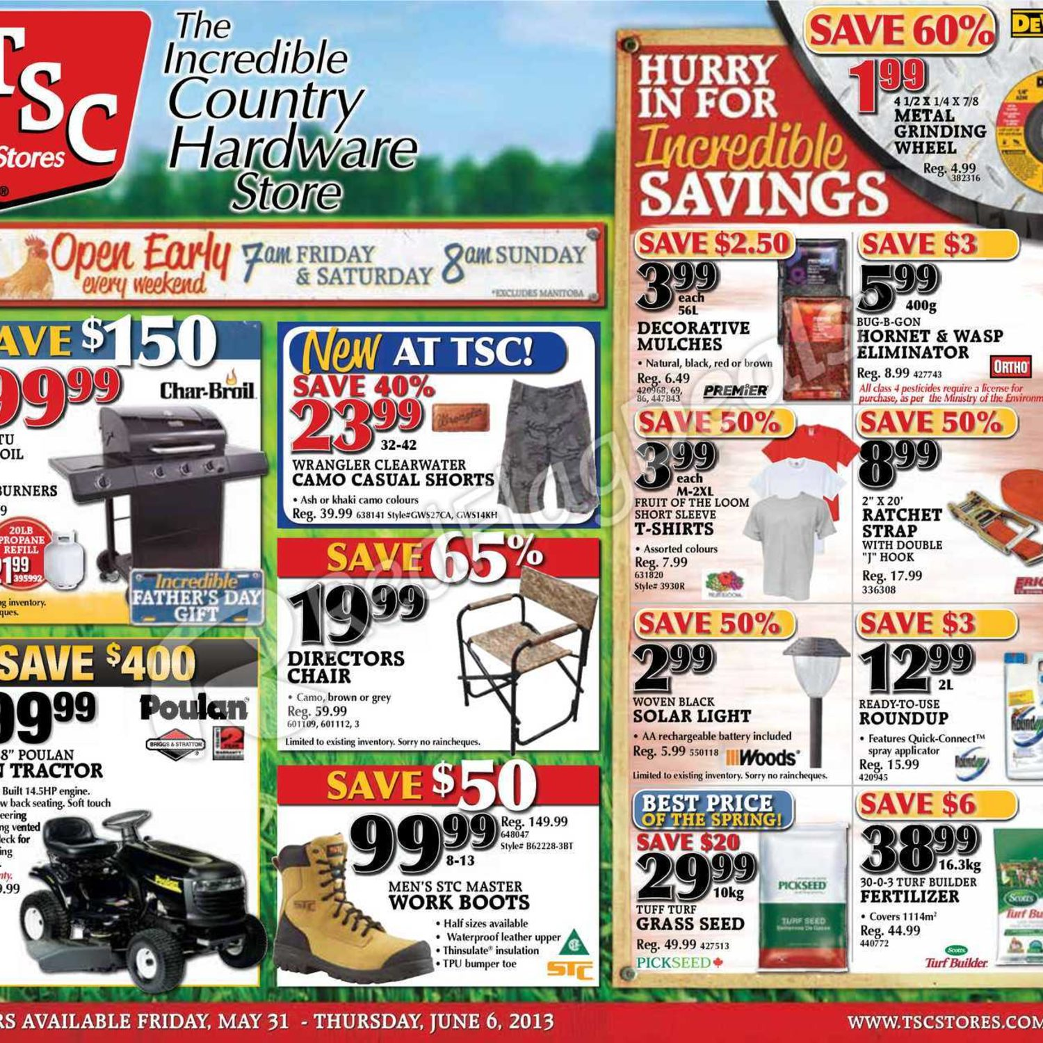 TSC Stores Weekly Flyer - Weekly Flyer - May 31 – Jun 6