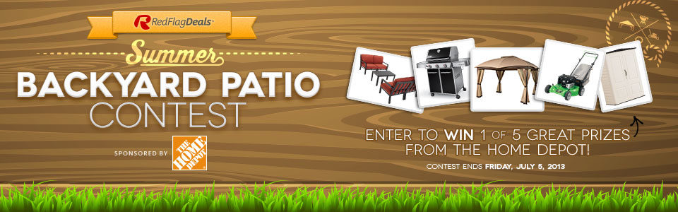 Backyard Patio Contest