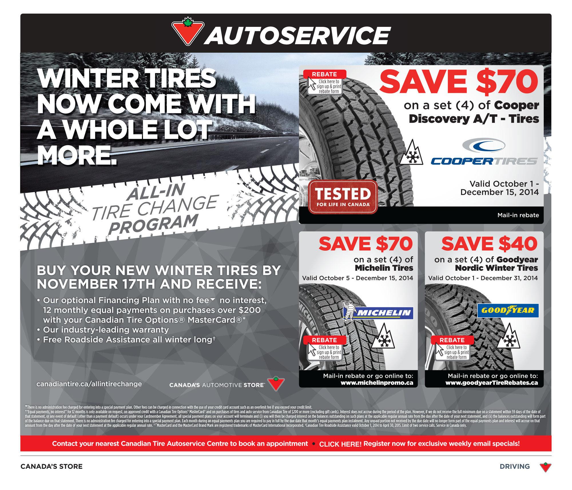 Canadian Tire Weekly Flyer Weekly Flyer Nov 7 13