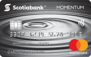 Scotia Momentum® Mastercard®* Credit Card