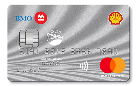 Shell®†† AIR MILES®† World MasterCard®* from BMO®