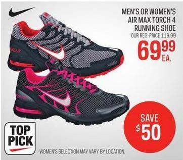 3480e5b43a9 Sport Chek Men s Or Women s Nike Air Max Torch 4 Running Shoe -  69.99  ( 50.00 off) Men s Or Women s Nike Air Max Torch 4 Running Shoe -  69.99