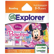 LeapFrog Explorer Minnie Mouse Game  - $17.99 (40% off)