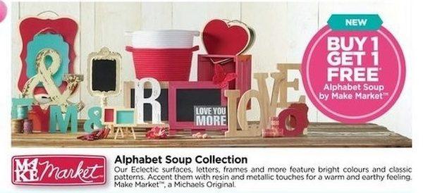 michaels alphabet soup collection by make market redflagdeals com