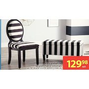 Walmart Black And White Striped Chair Or Ottoman Redflagdealscom