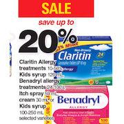 Atlantic Superstore: Claritin Allergy Treatments, Kida Syrup